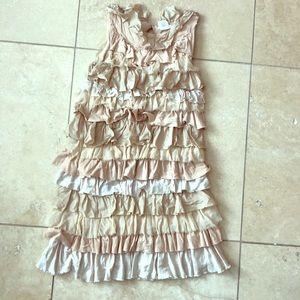 Girls Crew Cuts ruffle dress.